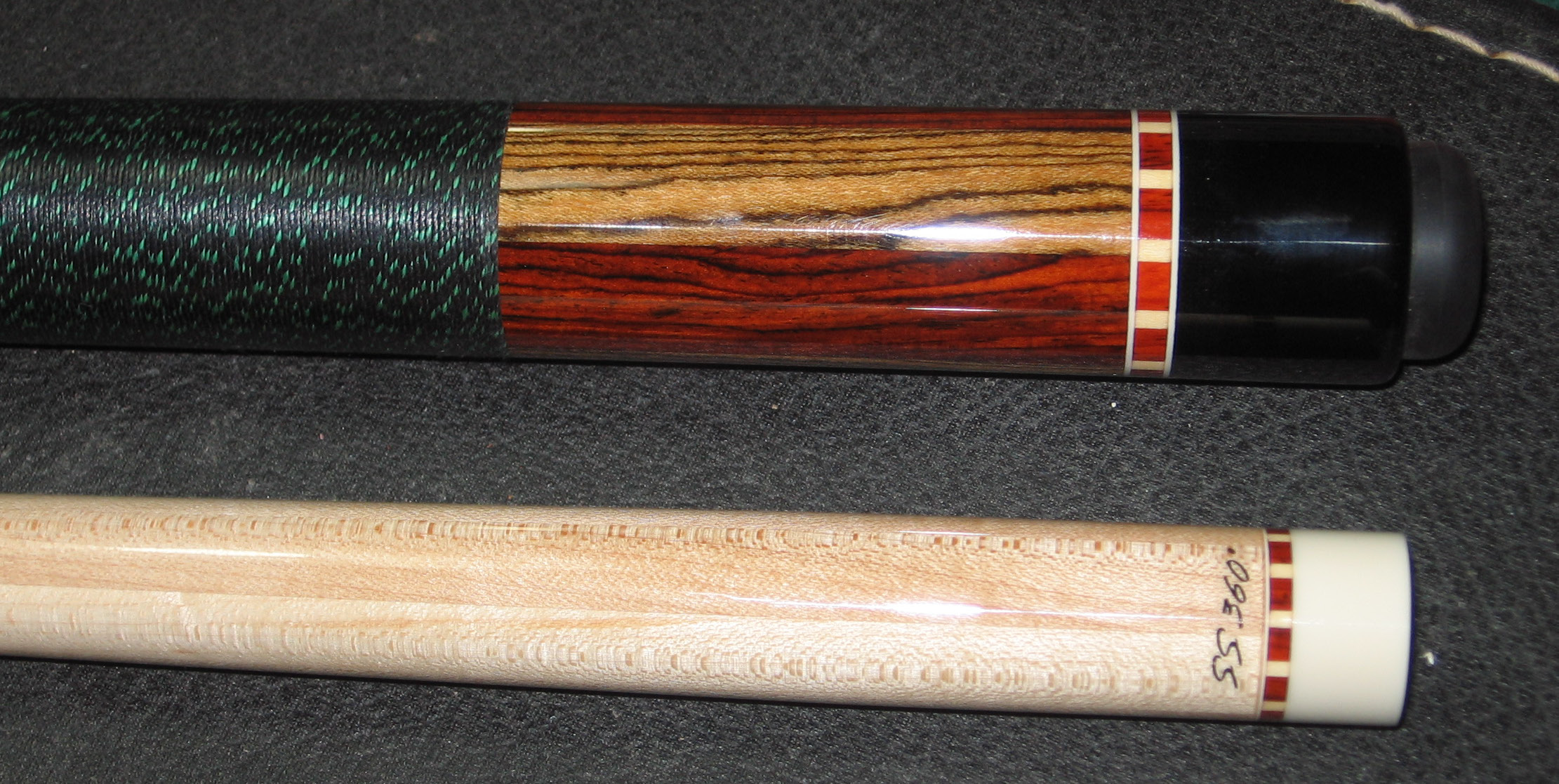 #12 Six-pie Cocobolo and Bocote