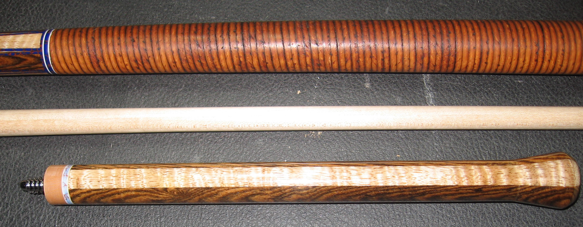 #14 Maple and Bocote jump handle